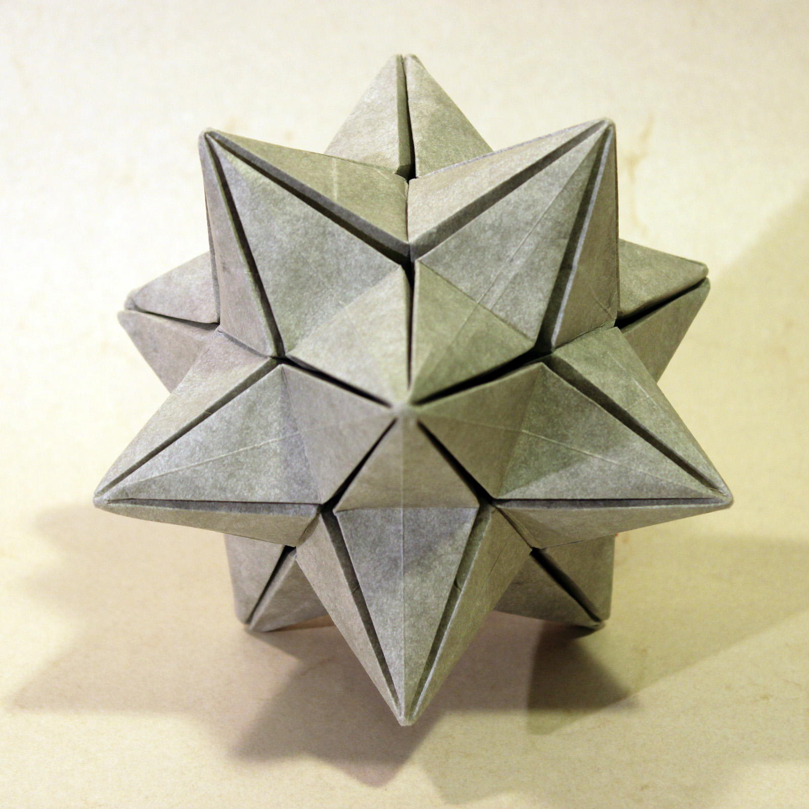 Dodecahedron Instructions with A6 paper | 1600x1600